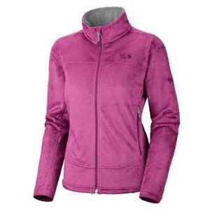 MOUNTAIN HARDWARE Pink Fleece Pyxis Jacket Medium